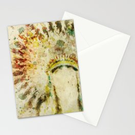 Old West Boho Headdress Stationery Cards
