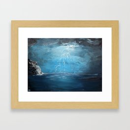 Thunderstorm - Acrylic Framed Art Print