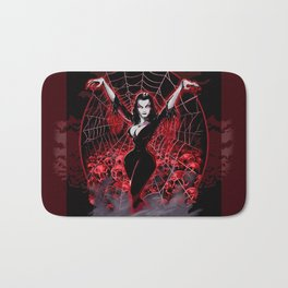 Web of Vampira Bath Mat