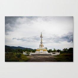 Thailand tempel Khao lak Canvas Print