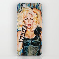 Lady singer  iPhone & iPod Skin