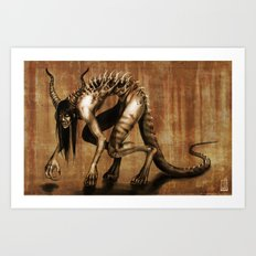 Corrupted Art Print