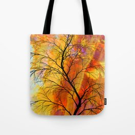 the naked tree Tote Bag
