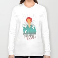 transistor Long Sleeve T-shirts featuring When everything changes, nothing changes. by Agustindesigner