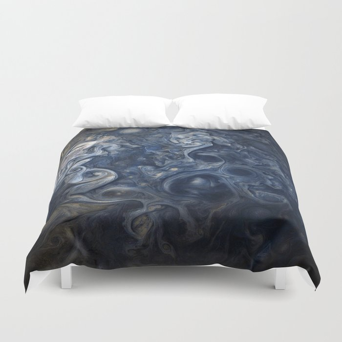 jupiter canvas duvet cover by georgemichaelart society6
