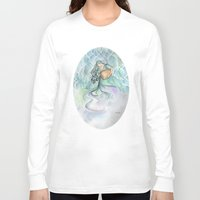 aquarius Long Sleeve T-shirts featuring Aquarius by Aline Souza de Souza