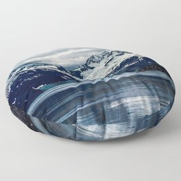 Mountain Floor Pillow
