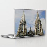 vienna Laptop & iPad Skins featuring Vienna by Kim Ramage