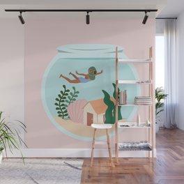 Swimming Wall Mural