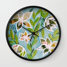 Whispers of Nature Wall Clock