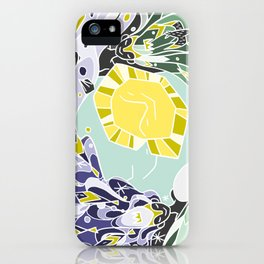 Sun & Moon Child iPhone Case