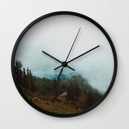 Park Butte Lookout - Washington State Wall Clock