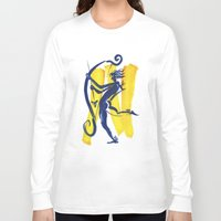 archer Long Sleeve T-shirts featuring The Archer by coconuttowers