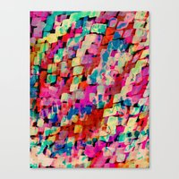 mineral Canvas Prints featuring Mineral by Amy Sia