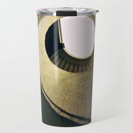 Spiral stairs in warm tones Travel Mug