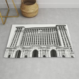 MICHIGAN CENTRAL TRAIN STATION - DETROIT Rug
