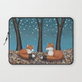 starlit foxes Laptop Sleeve