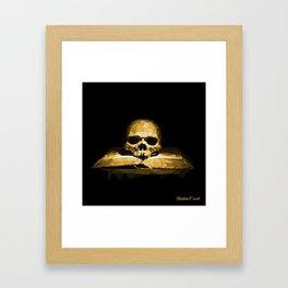 Memento mori - california sun Framed Art Print