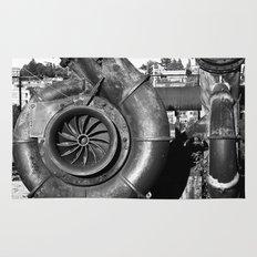 Turbo Rust Rug