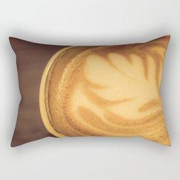 Flat White Rectangular Pillow
