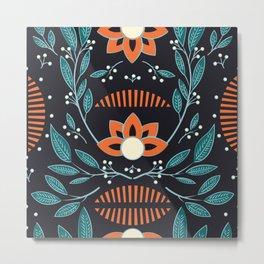 Dark flora 001 Metal Print