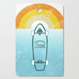 Skateboarding Cutting Board