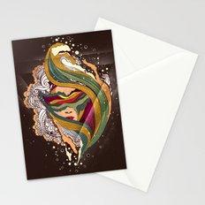 Triangular dream Stationery Cards