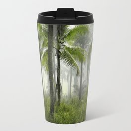 Foggy Palm Forest Travel Mug