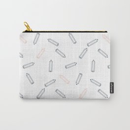 Pencil pattern Carry-All Pouch
