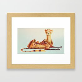 Cheetah 2 Framed Art Print