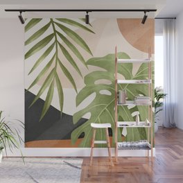Abstract Art Tropical Leaves 21 Wall Mural