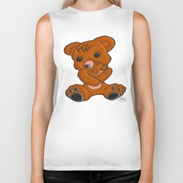 Teddy's Love Biker Tank