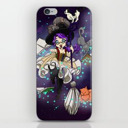 Library Witch iPhone Skin