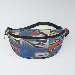 """""""Forest Unseen Pattern"""" Fanny Pack"""