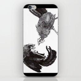 Cock Fight iPhone Skin