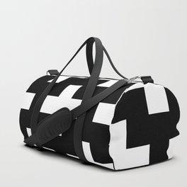 black-and-white pattern Yakshi Duffle Bag