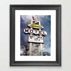 Motel Lorraine Framed Art Print