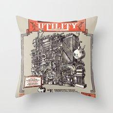 Extraordinarily Useless Utility Throw Pillow