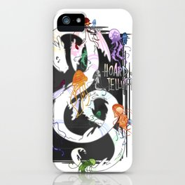 Hoard of jellyfishes iPhone Case
