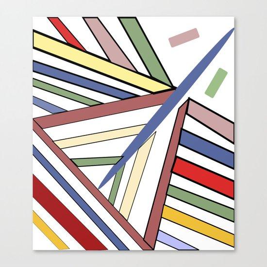 Haphazard Balance II Canvas Print
