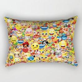 emoji Rectangular Pillow