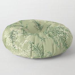 Pine Needle Impressions- Fresh Floor Pillow