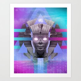 Amenophis II Art Print