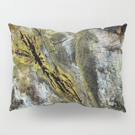 Rotten Cross Section Pillow Sham