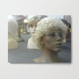 Wigs I Metal Print