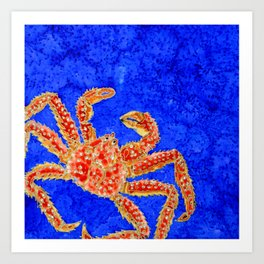 Sea Crawler Art Print