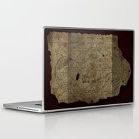 the goonies Laptop & iPad Skins featuring Goonies Treasure Map by IndestrucTibBo