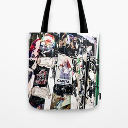 Snowboard Season Tote Bag