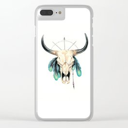 The Dreamcatcher Clear iPhone Case