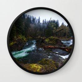 Lucia Falls Wall Clock